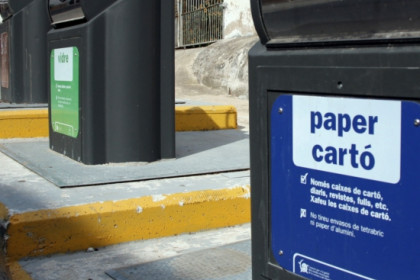 Recycling bins in Catalonia (by ACN)