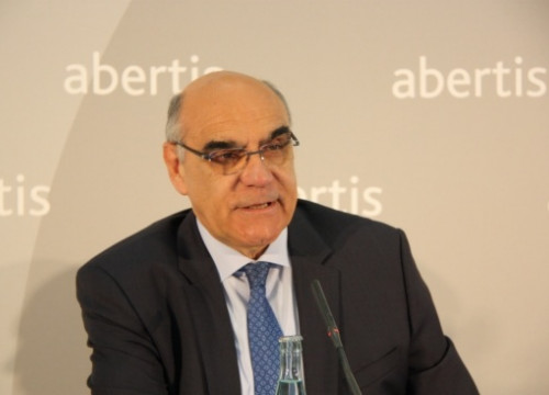 Salvador Alemany, Abertis' CEO, in the last shareholder meeting (by ACN)