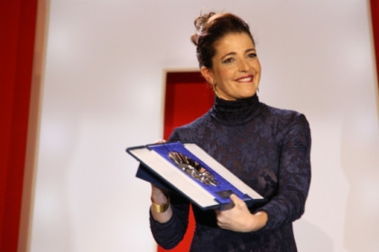 Catalan actress Nora Navas was awarded with the best actress prize (by E.Rosanas)