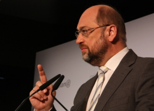 Martin Schulz sent a warning: if the EU Member States do not work together, the EU might fail (by R. Garrido)