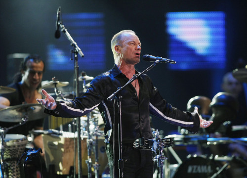 Sting will perform in Jardins de Cap Roig Festival (by Reuters)
