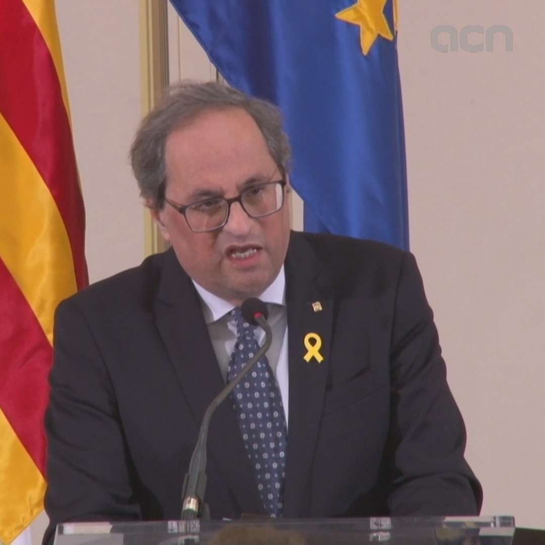 "Catalan president pledges to ""pay the price"" for self-determination if it is his ""personal liberty"""