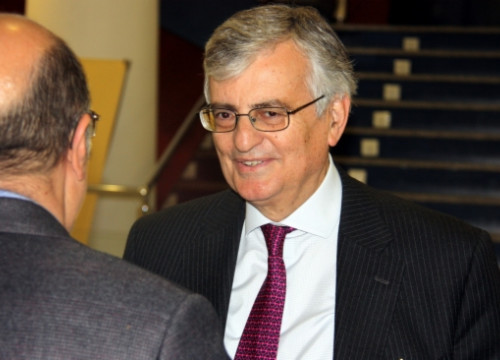 Spain's Director of Public Prosecutions in a recent visit to Barcelona (by P. Solà)