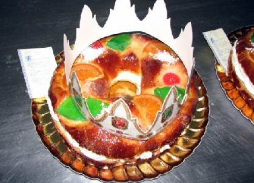 A 'tortell de Reis', the traditional Christmas cake in Catalonia (by ACN)
