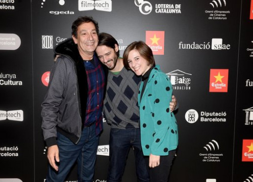 Catalan film-makers Agustí Villaronga, Carla Simón and Carles Marqués-Marcet (by Marc Medina)