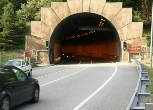 The Cadí tunnel, one of the doors to the Cerdanya County, in the Catalan Pyrenees (by ACN)