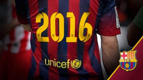 Unicef and Barça to cooperate at least until 2016 (by FC Barcelona)