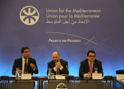 Representatives from the UfM's Parliamentary Assembly met in Barcelona on Friday (by M. Fernández Noguera)
