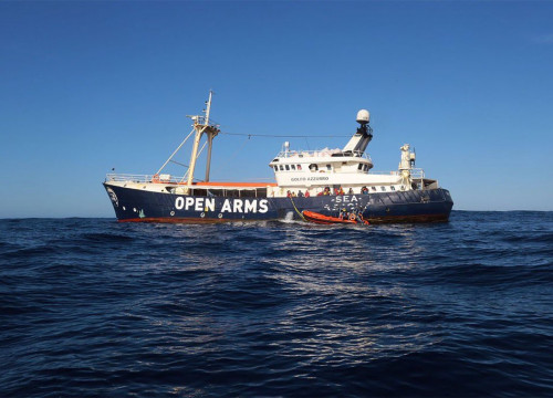 Proactiva Open Arms' Golfo Azzurro boat (Photo: Proactiva Open Arms)