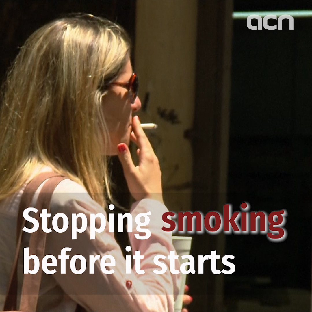 Campaign launched to stop smoking before it starts