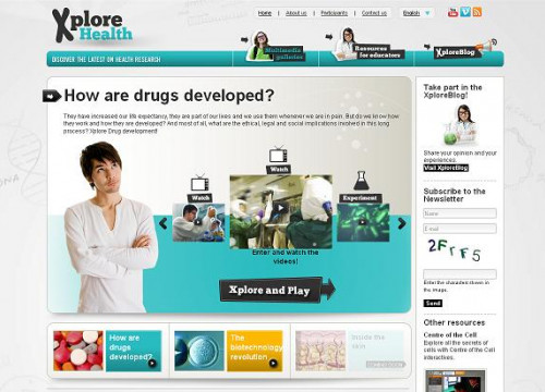 A caption from the website Xplore Health (by ACN / Xplore Health)