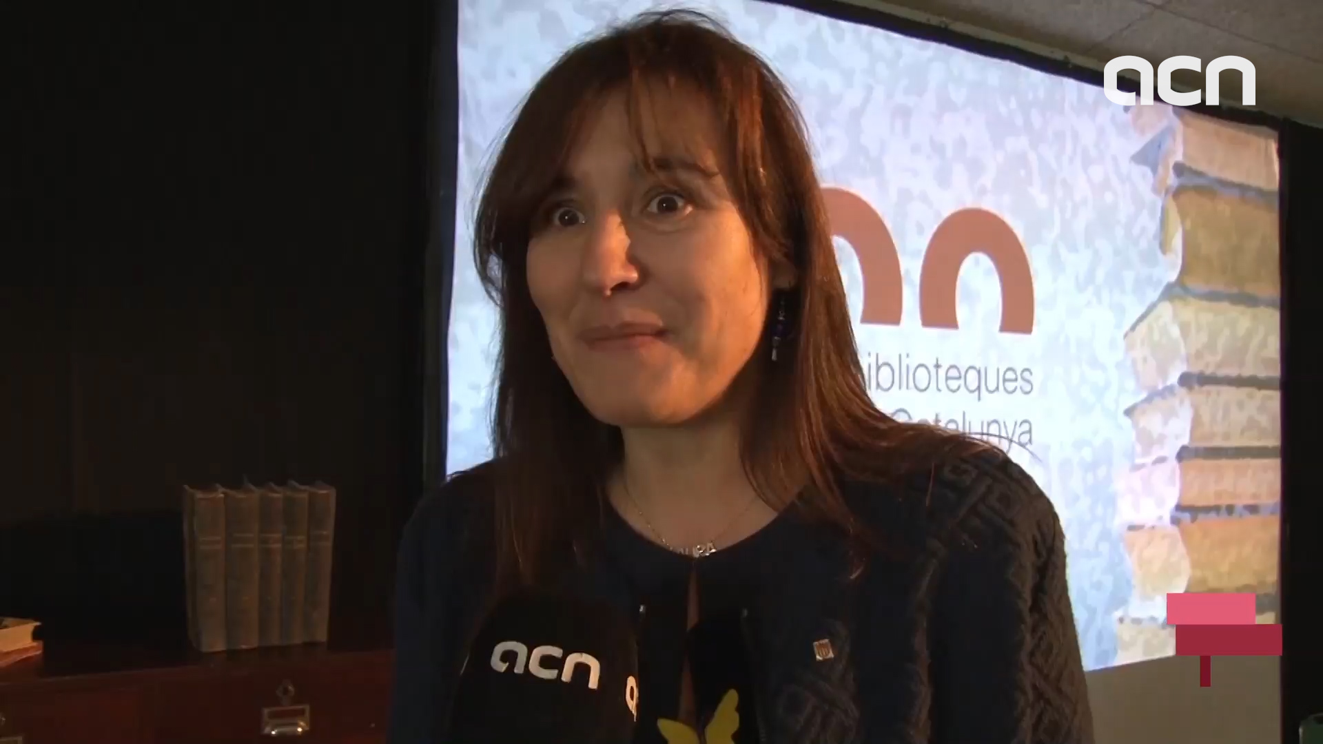 The Catalan minister of Culture speaks of the campaign