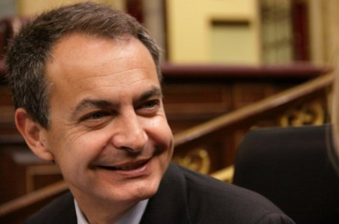 PM Zapatero today at the Spanish Parliament (by La Moncloa)