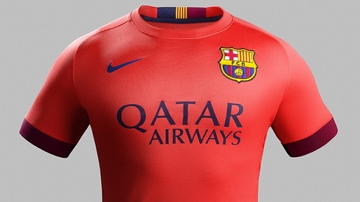 FC Barcelona and Nike unveil new away kit for season 2014-15 88a2ad9fd