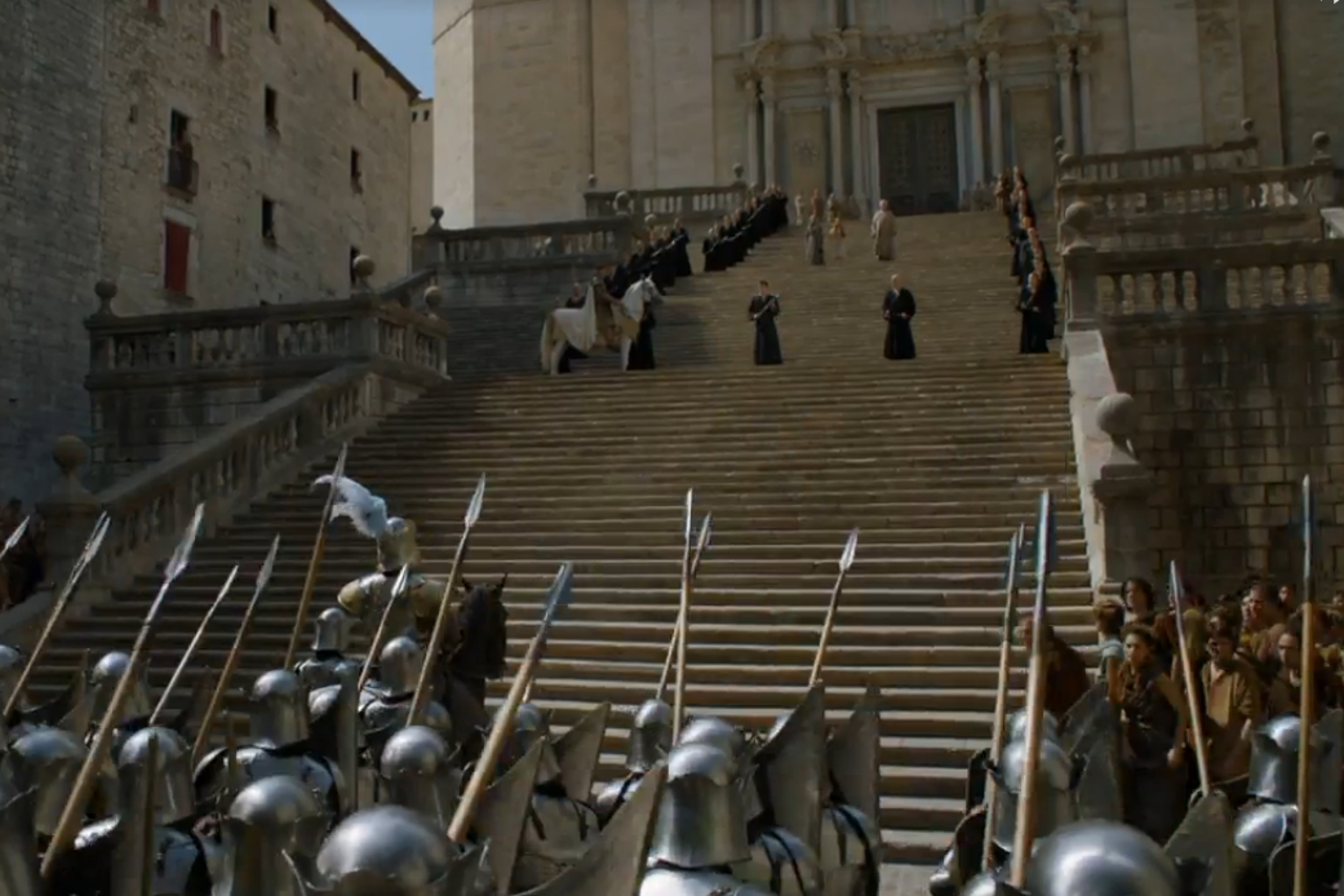 The Romance Between Girona And Game Of Thrones Series