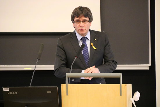UN accepts Puigdemont's appeal for protection of his political rights